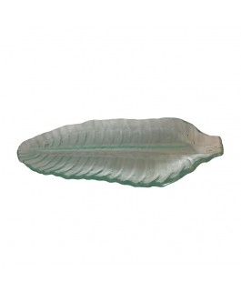 Blown Glass Banana Leaf