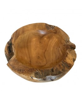 Little Natural Bowl in Teak Wood Natural