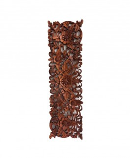 Rectangle wall decoration Carved in Wood
