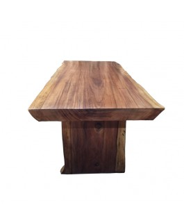 Table Irregular in Natural Suar Wood